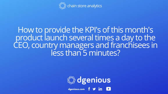 How to automatically send your updated kpi multiple times per day to your different teams.