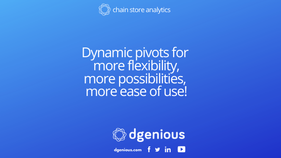 Dynamic pivots for more flexibility, more possibilities, more ease of use!
